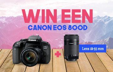 Win een Canon EOS 800D!