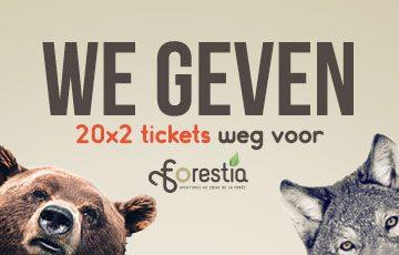 Win tickets voor Forestia, het dieren- en avonturenpark dat het hele jaar door open is!