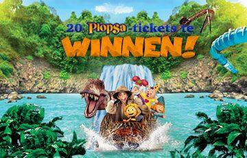 20 Plopsa-tickets te winnen !