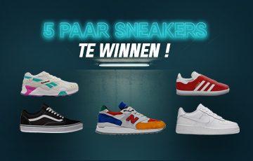Kies en win jouw comfortabel en trendy paar sneakers voor deze zomer!
