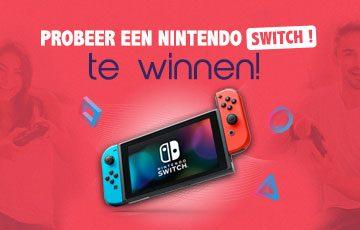 Probeer een Nintendo SWITCH te winnen!