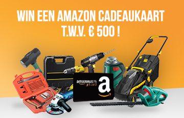 Win een amazon cadeaukaart t.w.v. €500 !