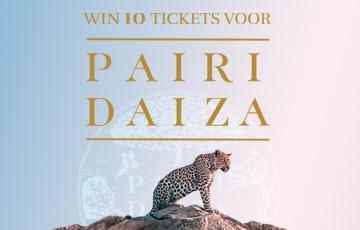 Pairi Daiza win ticket