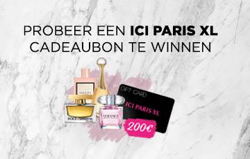 Geniet van 200€ bij ICI PARIS XL !