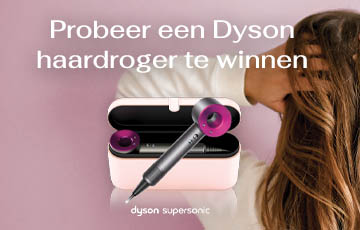 Win een Dyson SuperSonic haardroger !