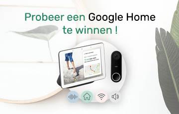 Win een Google Home !