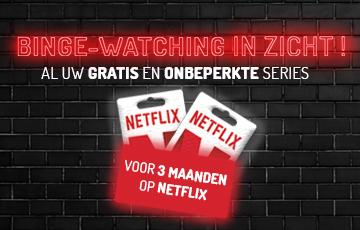 Win een 3 maanden Netflix abonnement !