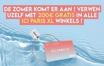 Win een 200€ waardbon bij Ici Paris XL !
