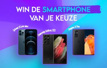 Win de smartphone van uw keuze!